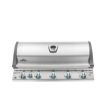 Napoleon Lex 6-Burner Built-In Gas Grill; Natural Gas