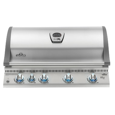 Napoleon Lex 5-Burner Built-In Gas Grill; Natural Gas