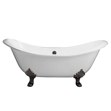 Barclay Marshall 71'' x 30'' Soaking Bathtub; Oil Rubbed Bronze