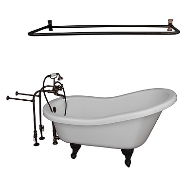 Barclay 60'' x 30'' Soaking Bathtub Kit; Oil Rubbed Bronze