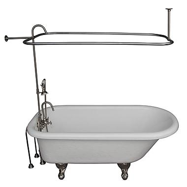 Barclay 67'' x 29.5'' Soaking Bathtub Kit