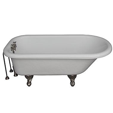 Barclay 60'' x 29.5'' Soaking Bathtub Kit