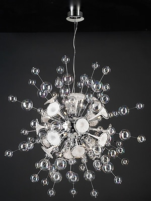 PLC Lighting Circus 30-Light Cluster Pendant