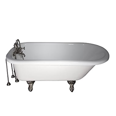 Barclay 60'' x 24.5'' Soaking Bathtub Kit