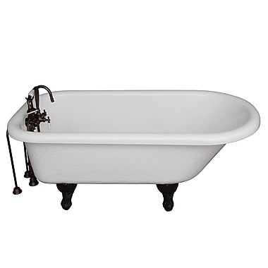 Barclay 67'' x 29.5'' Soaking Bathtub Kit