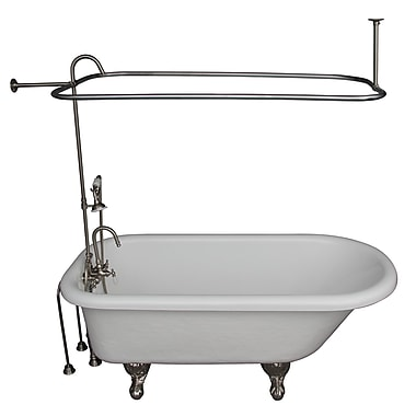 Barclay 60'' x 29.5'' Soaking Bathtub Kit