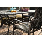 Darlee Victoria Stacking Dining Arm Chair Frame