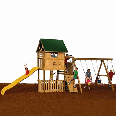 Playstar Great Escape Starter Swing Set