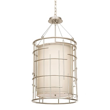 Kalco Atelier 8-Light Drum Chandelier