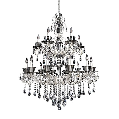 Allegri Locatelli 18-Light Crystal Chandelier; Firenze Clear