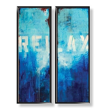 PTM Images Relax 2 Piece Framed Graphic Art Set