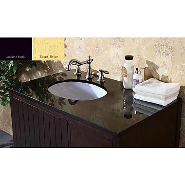 Legion Furniture 37'' Single Bathroom Vanity Top; Egypt Beige