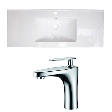 American Imaginations Drop-in 48'' Single Bathroom Vanity Top