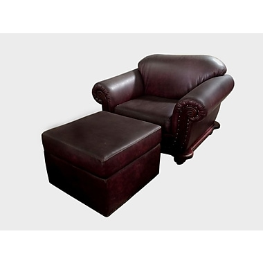 D-Art Collection Club Chair and Ottoman