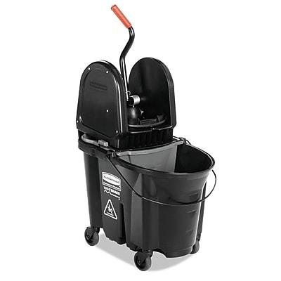 Premier Mounts Executive WaveBrake Down-Press 35 Quart Mop Bucket