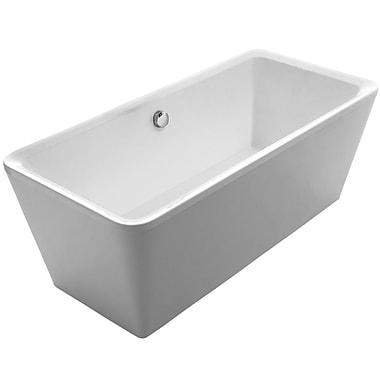 Whitehaus Collection Bathhaus 67'' x 31.5'' Freestanding Bathtub