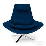 Kardiel Retropolitan Lounge Chair; Sapphire