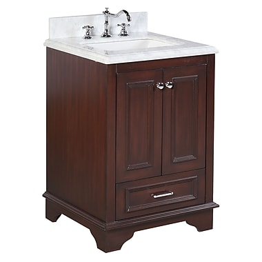 KBC Nantucket 25'' Single Bathroom Vanity Set; Chocolate