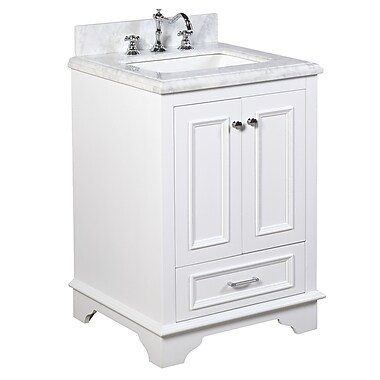 KBC Nantucket 25'' Single Bathroom Vanity Set; White