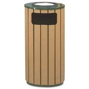 Premier Mounts 12-Gal Regent 50 Ash/Trash Receptacle