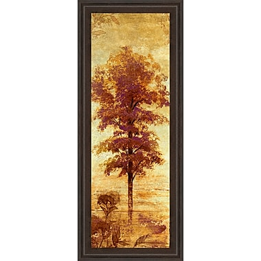 ClassyArtWholesalers Early Autumn Chill I by Micheal Marcon Framed Painting Print