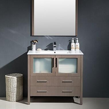 Fresca Torino 36'' Single Modern Bathroom Vanity Set w/ Mirror