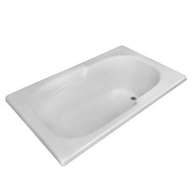 Carver Tubs Hygienic 60'' x 36'' Soaking Bathtub