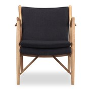 Kardiel Copenhagen Arm Chair; Urban Ink