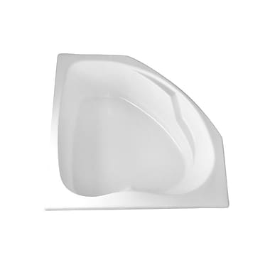 Carver Tubs Hygienic 55'' x 55'' Soaking Bathtub