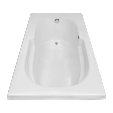 Carver Tubs Hygienic 72'' x 36'' Soaking Bathtub