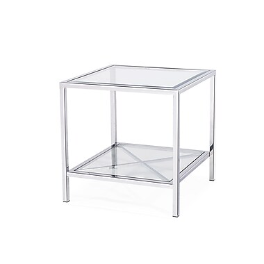 Blink Home Gardner End Table; Silver
