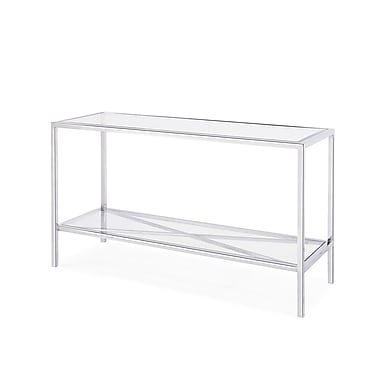 Blink Home Gardner Console Table; Silver