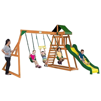 Backyard Discovery Prescott All Cedar Swing Set