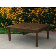 Hershy Way Days End Chat Table; Charcoal