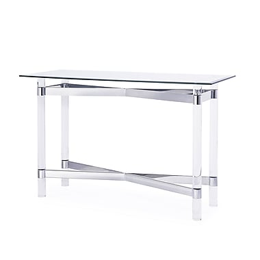 Blink Home Townsend End Table; Silver
