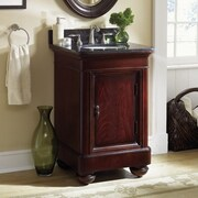 Kaco Mount Vernon 24'' Single Bathroom Vanity Set; Tan Brown