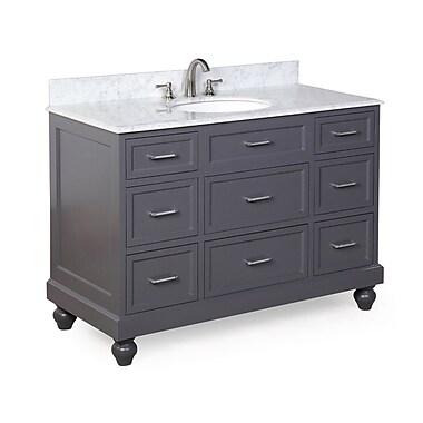 KBC Amelia 48'' Single Bathroom Vanity Set