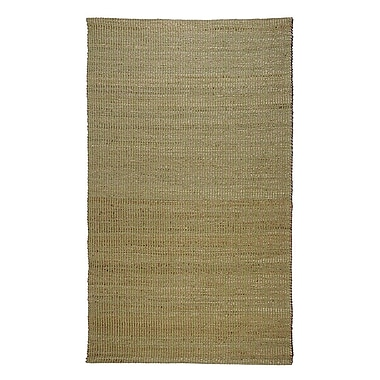 Regence Home Matrix Green Area Rug; 5' x 8'