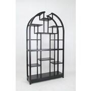 Wayborn Etagere 72'' Bookcase; Black