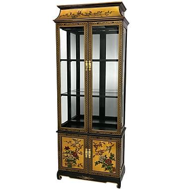 Oriental Furniture Curio Cabinet