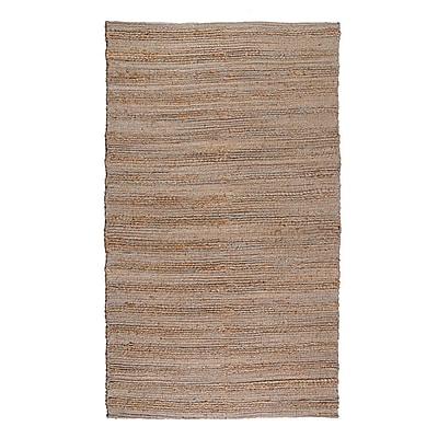 Regence Home Cannery Row Brown Area Rug; Runner 2'6'' x 7'6''