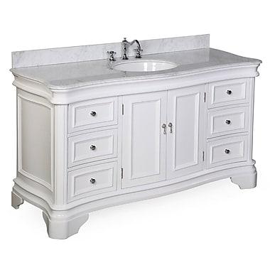 KBC Katherine 60'' Single Bathroom Vanity Set; White