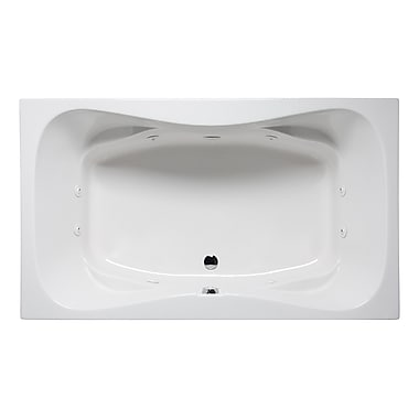 Americh Rampart II 60'' x 42'' Drop in Whirlpool Bathtub; White