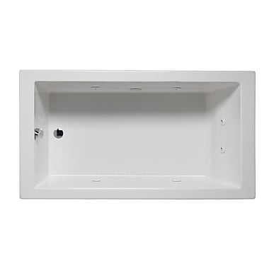 Americh Wright 72'' x 32'' Drop in Whirlpool Bathtub; Almond