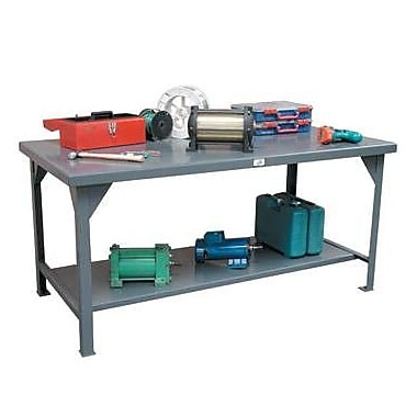 Strong Hold Products Steel Top Workbench; 36'' H x 72'' W x 34'' D