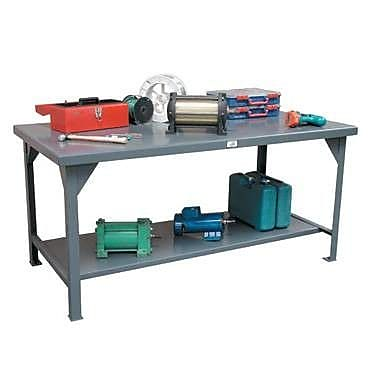 Strong Hold Products Steel Top Workbench; 36'' H x 60'' W x 34'' D