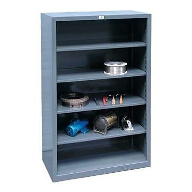Strong Hold Products Closed Four Shelf Shelving Unit; 72'' H x 60'' W x 24'' D