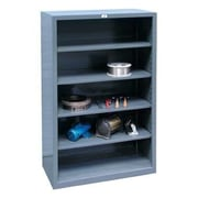 Strong Hold Products Closed Four Shelf Shelving Unit; 72'' H x 48'' W x 24'' D