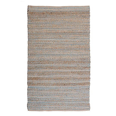 Regence Home Cannery Row Teal Area Rug; Runner 2'6'' x 7'6''