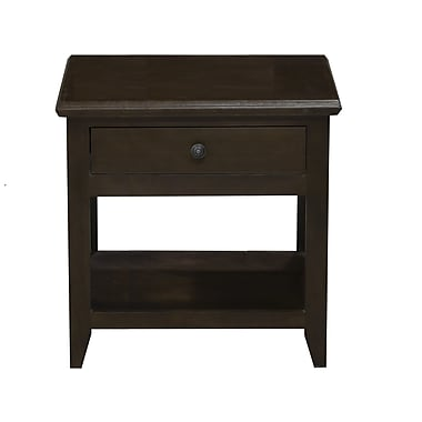 Eagle Furniture Manufacturing End Table; Burnt Cinnamon